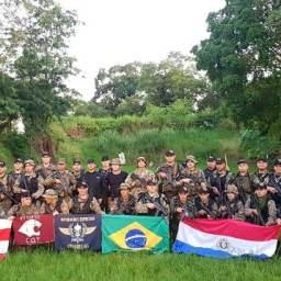 Bope ensina técnicas de patrulhamento urbano e rural no Paraguai