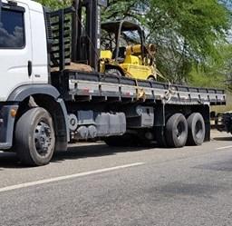 PRF recupera em Jequié caminhão roubado em Maricá/RJ