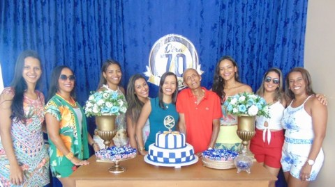 Gandu: Amigos e familiares se reúnem para comemorar aniversário de Sr. Dera