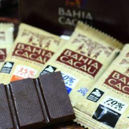 Chocolates da agricultura familiar da Bahia marcam presença em festival em São Paulo