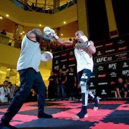 Evento inédito do UFC leva treino com José Aldo e Anderson Silva a shopping