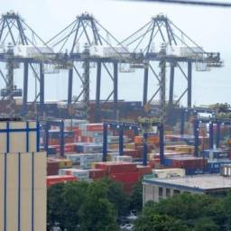 Obra no Porto de Salvador movimenta mais de meio bilhão