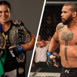 Antes do UFC 239, Amanda Nunes e Thiago Marreta podem ganhar 5 prêmios no 'Oscar do MMA'