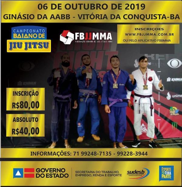 Campeonato-Baiano-de-Jiu-Jitsu-06-de-Outubro-em-Vit%C3%B3ria-da-Conquista 6ª etapa do campeonato Baiano de Jiu-Jitsu: 06/10 em Vitória da Conquista