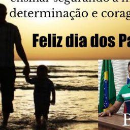Mensagem do Vereador Bozó em homenagem ao Dia dos Pais