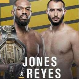 Jon Jones defende cinturão contra Dominick Reyes no UFC 247