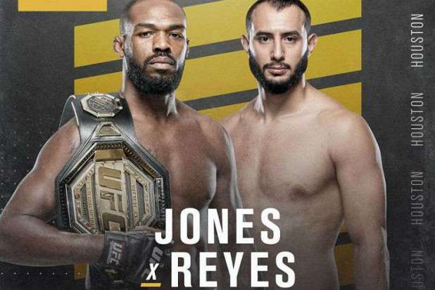Jon-Jones-defende-cintur%C3%A3o-dos-meio-pesados-do-UFC-contra-invicto-Dominick-Reyes Jon Jones defende cinturão contra Dominick Reyes no UFC 247