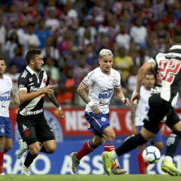 Brasileirão: Bahia fica no 1 a 1 com o Vasco em último jogo do ano na Fonte Nova