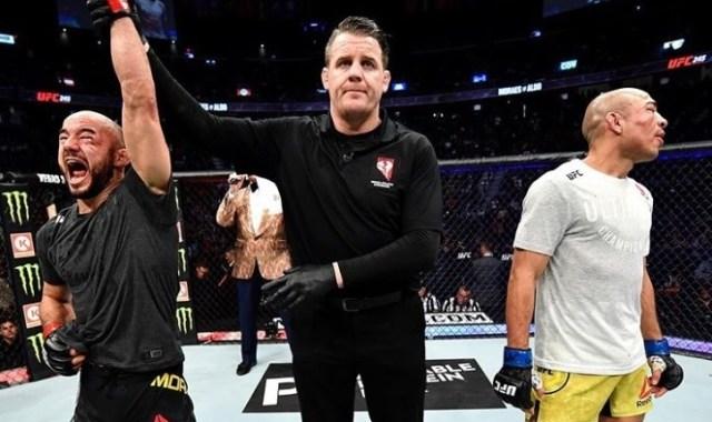 Marlon Moraes vence José Aldo em batalha no UFC 245