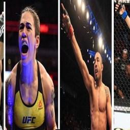 Quem são os brasileiros que podem conquistar o cinturão do UFC em 2020?