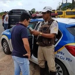 Rodovias estaduais tem policiamento reforçado durante o Carnaval