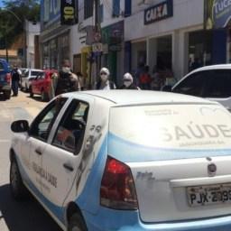 Polícia Militar de Jaguaquara e a Vigilância Sanitária Municipal atuam para fazer cumprir decreto do Covid