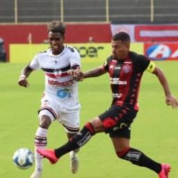 Copa do Nordeste: Vitória goleia River-PI por 4 a 1 no Barradão