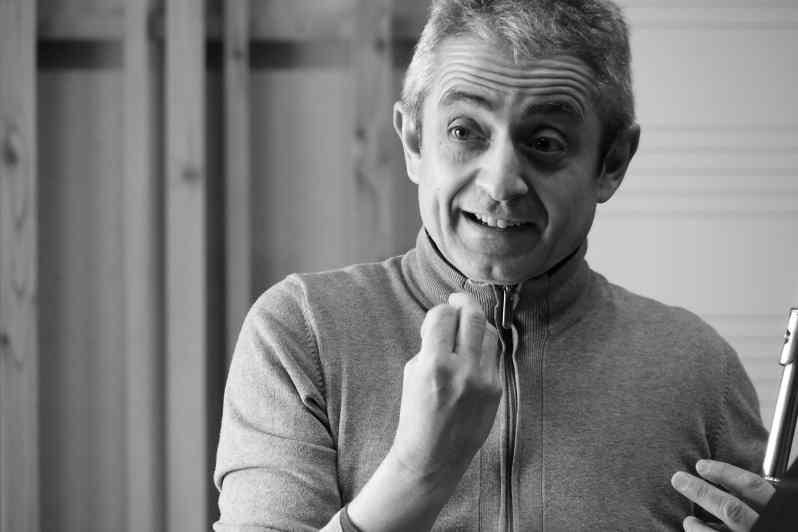 Michel Moragues, flûte solo à l'orchestre national de france