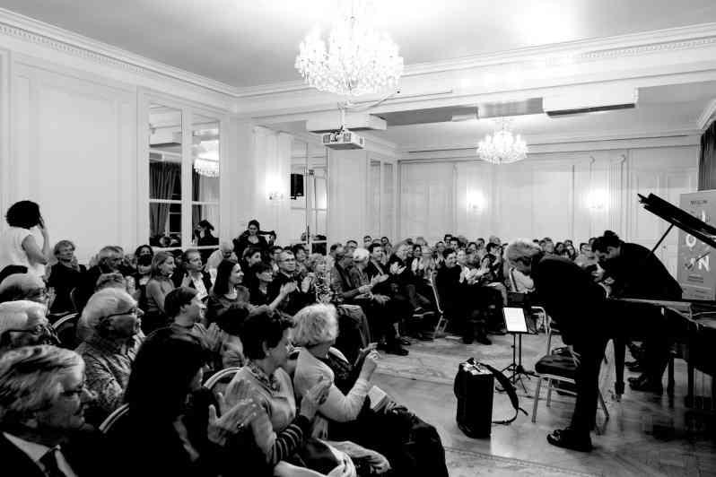 Le printemps du violon. 25 mars 2019. Maison de l'Amérique Latine. Crédit photo : Yves Dimant.