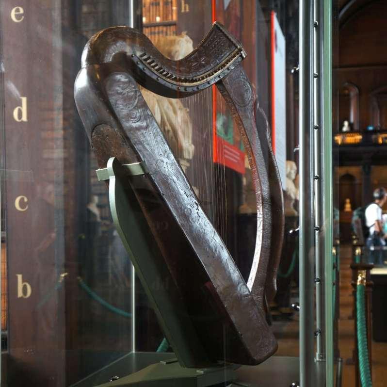 The Trinity College Harp