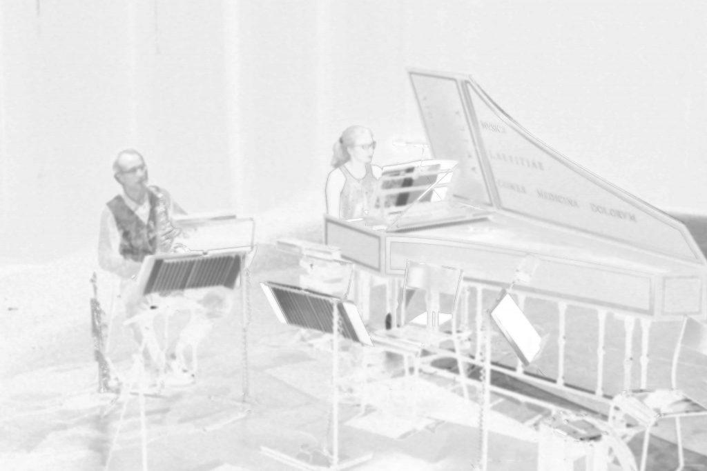 clavecin et saxophone