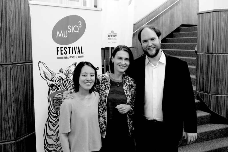 Mi-Sa Yang, Anne-Sandrine Di Girolamo et Jonas Vitaud