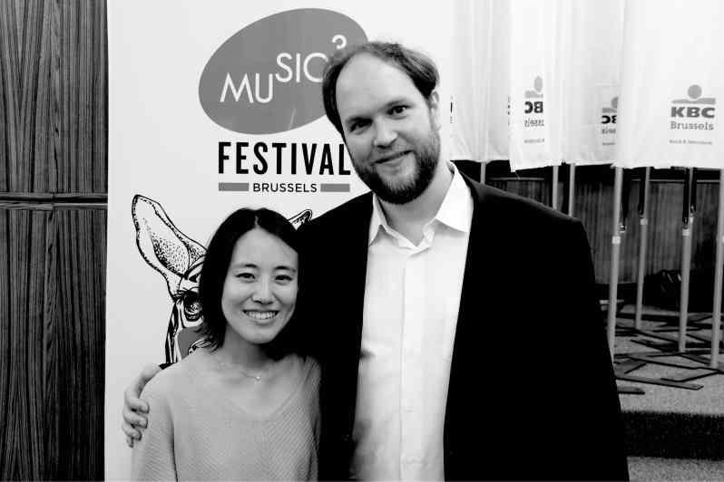 Mi-Sa Yang et Jonas Vitaud.