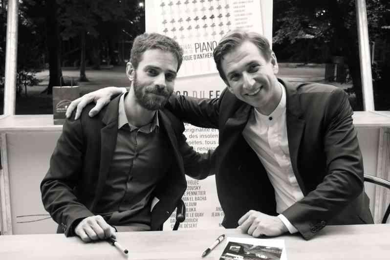 Adam Laloum et Mihhail Gerts - 20 juillet 2019 - Festival de la Roque d'Anthéron.