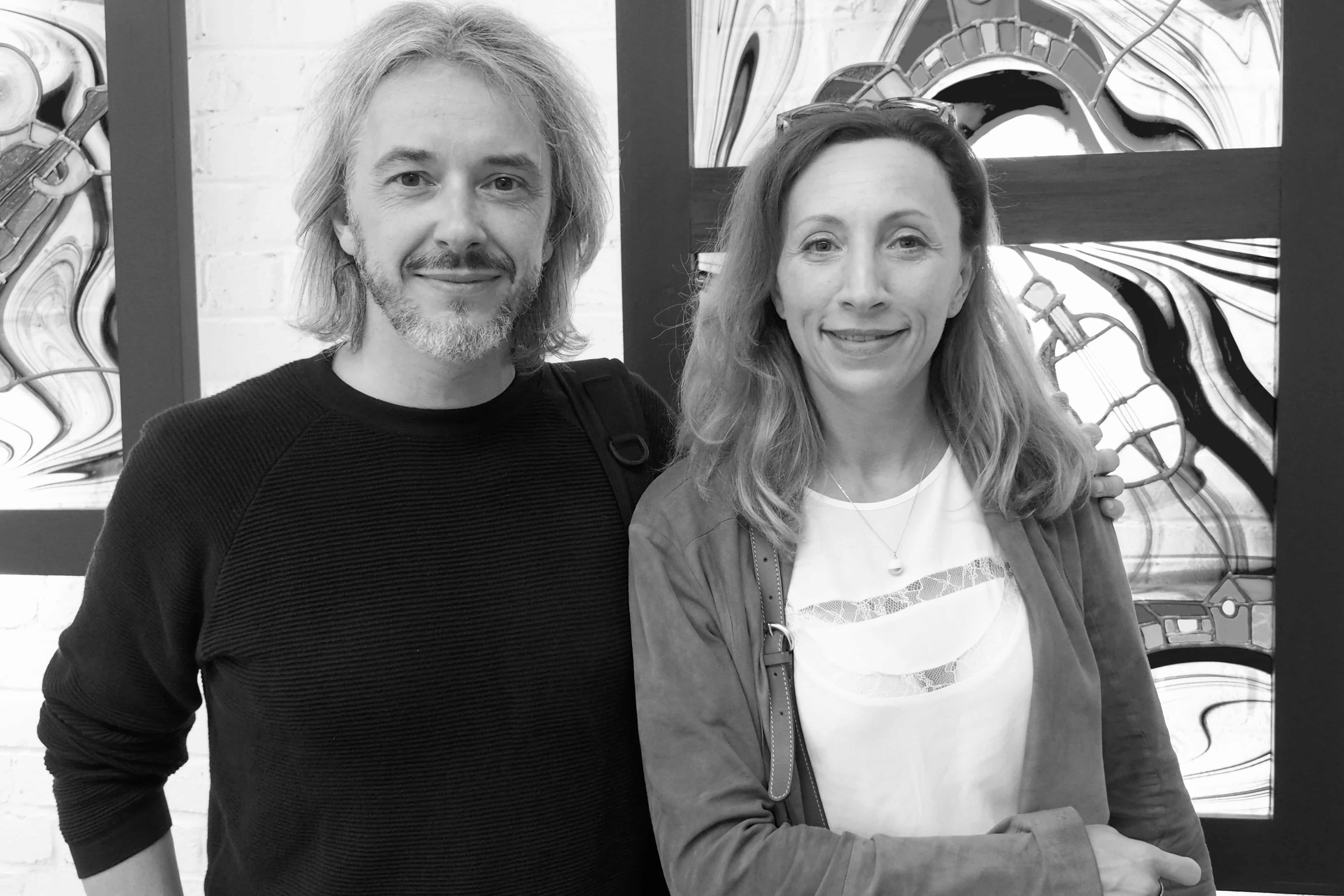 Manu Comte et Isabelle Raché-Chappellier