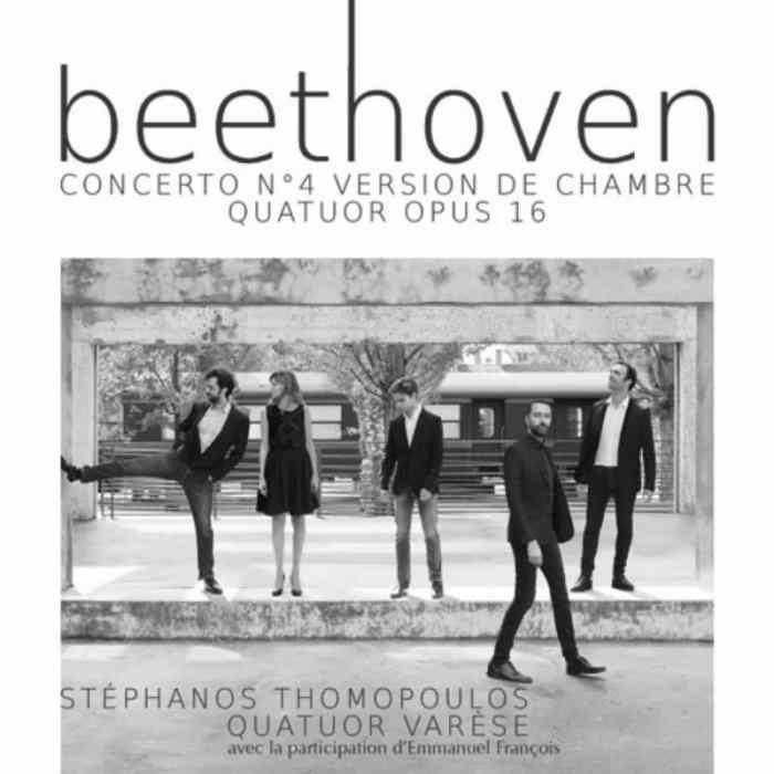 Beethoven, concerto n°4 version de chambre quatuor opus 16