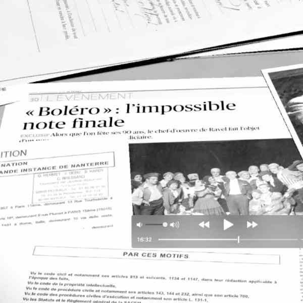 Qui a volé le Boléro de Ravel ?