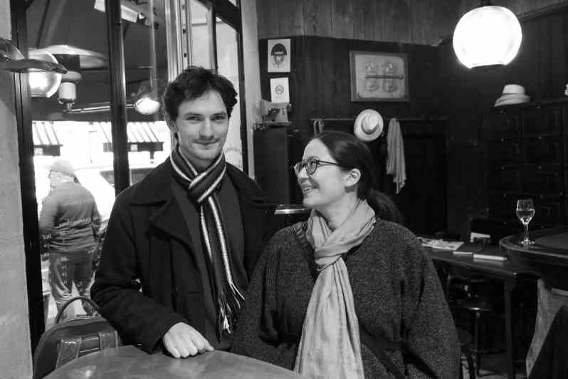 Gabriel Tchalik et Claire Douieb