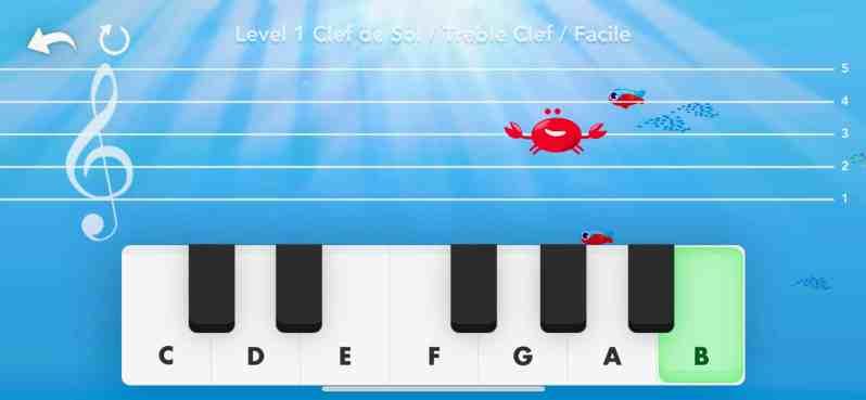 music crab