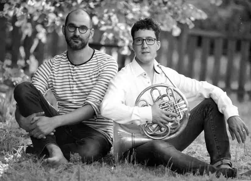 Alexandre Collard et Nicolas Royez