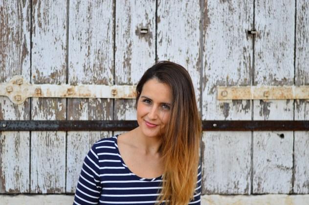Sylvie, gang of mothers et Happy studio, photographe. Fashion marinière.