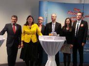 Senatorin Sandra Scheeres bei der Eröffnung der JBA Pankow