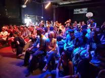 Vortrag von Torch über die Geschichte des Hip Hop in Deutschland