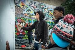 Graffiti Workshop mit Joolz