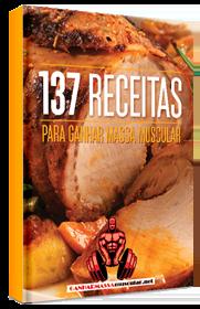E-book 137 receitas para ganhar massa muscular