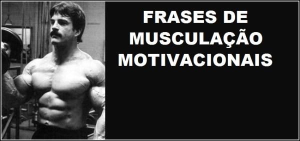Frases de musculação