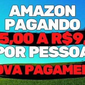 GANHE R$9,00 POR CLIQUE AGORA NA AMAZON | PROVA DE PAGAMENTO | VENDEDOR GLOBAL #SHORTS