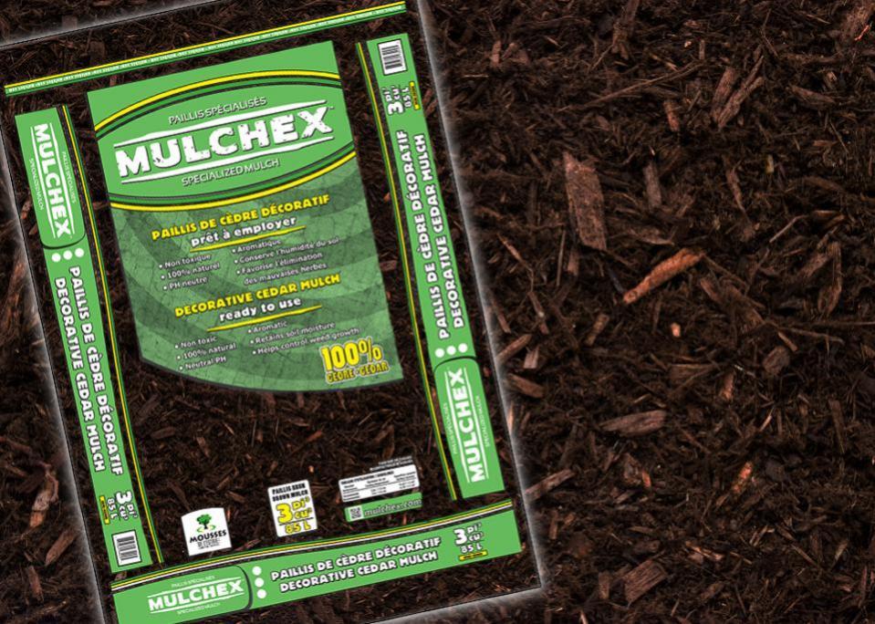 Brown Cedar Mulch 3 Cu Ft Bags Ganim S Garden Center