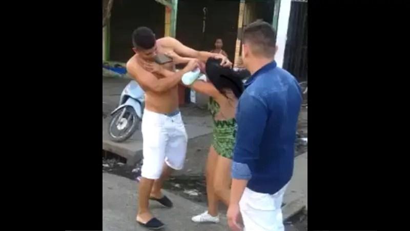 男性がマジで女性を殴る夫婦喧嘩が怖い!