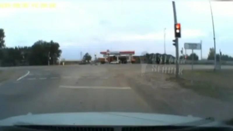 カザフスタンでは戦車に追突される事もあるらしい。