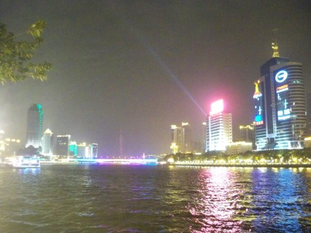 Pearl river at night