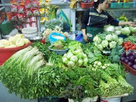 Herb stall