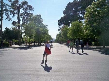 El Retiro skater