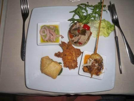 Degustazione di Antipasti Di Pesce