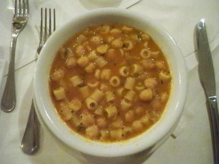 Pasta bean soup