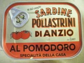 Sardines from Anzio