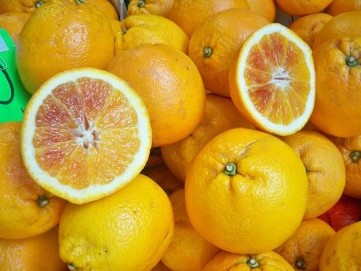 Sicilian blood oranges