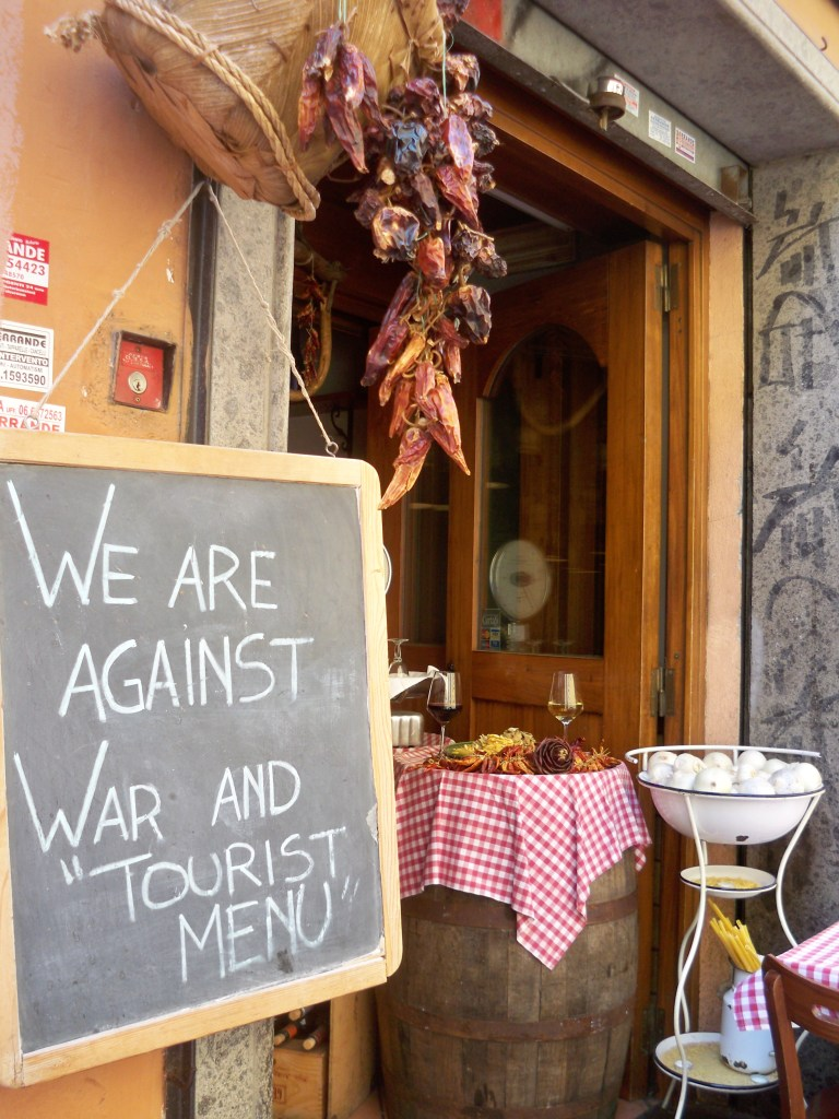 Trattoria with principles