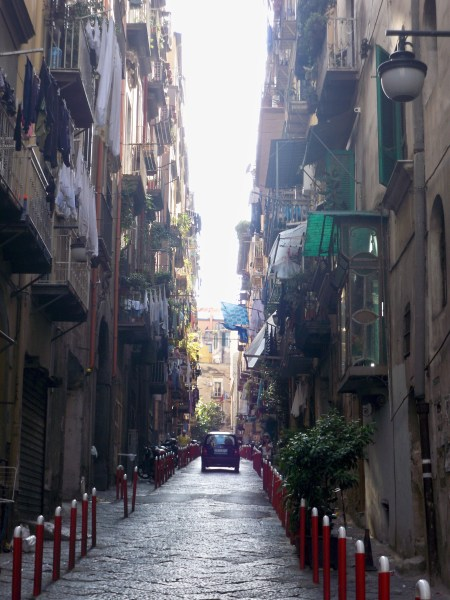 Spanish Quarter street