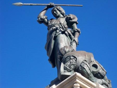 Statue of Maria Pita
